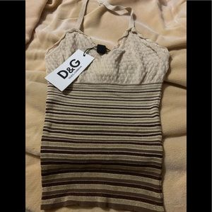 👍NWT authentic tank top by Dolce &Gabbana !🌹👍🦋